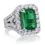 Emerald Best Ring